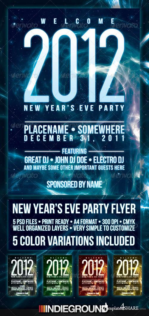 Graphicriver New Year Flyer/Poster
