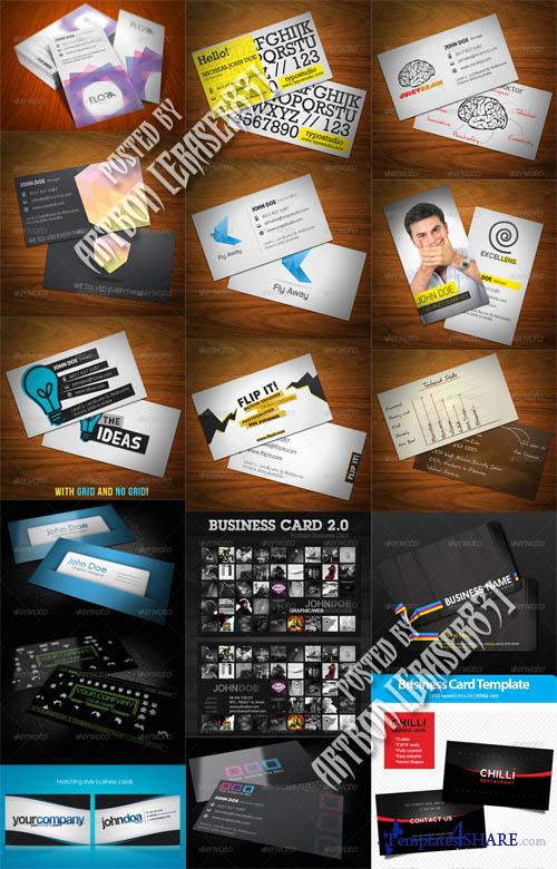 GraphicRiver Business Cards Pack 5