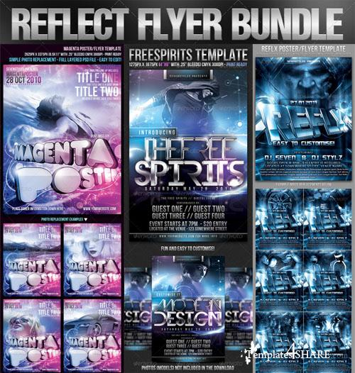 Graphicriver Reflect Flyer Bundle