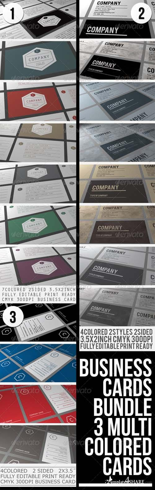 Graphicriver BUSINESS CARDS BUNDLE