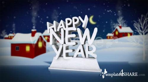 Happy New Year - Footage for After Effects (Videohive)
