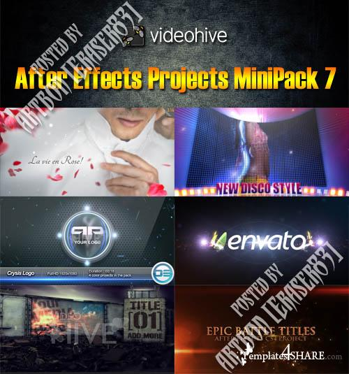 Videohive Projects MiniPack 7