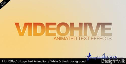 Logo Text Animation - Project for After Effects (Videohive)