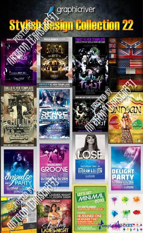 GraphicRiver Stylish Design Collection 22