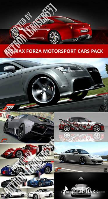 Forza Motorsport Cars Pack - 3D Models