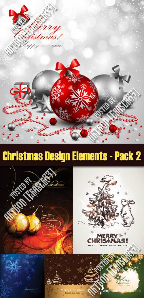 Christmas Design Elements - Pack 2
