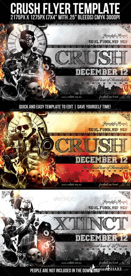 GraphicRiver Crush Flyer Template