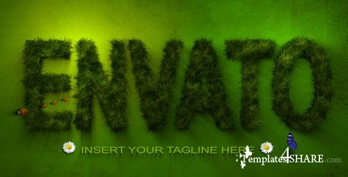 Grass Logo - Project for After Effects (Videohive)