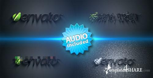 Distorted Logo Sting - Project for After Effects (Videohive)