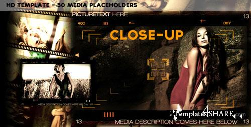 Close-Up - Project for After Effects (Videohive)