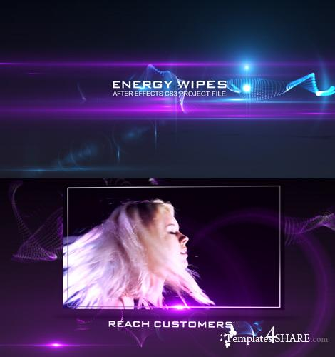 VideoHive Energy Wipes - Projects for After Effects