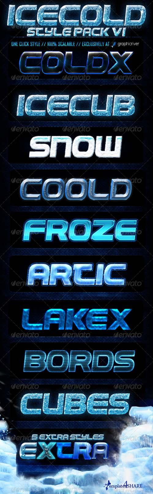 Graphicriver Ice Cold Styles V1