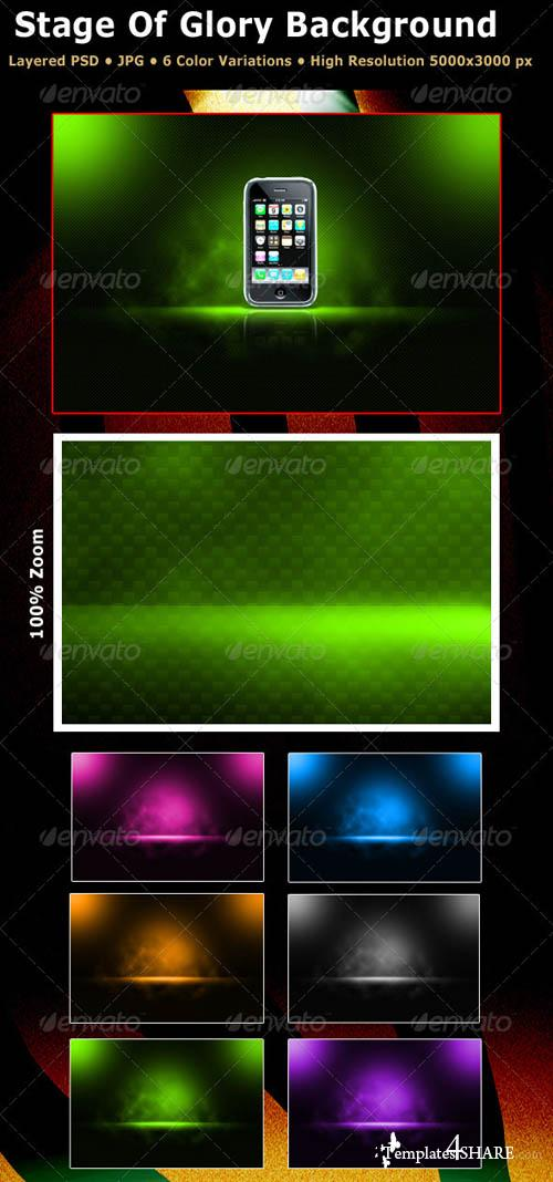 GraphicRiver Magic Stage Background