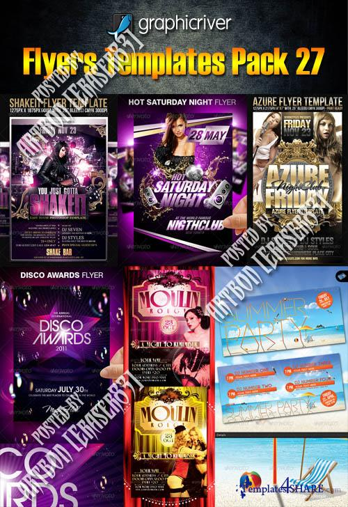 GraphicRiver Flyers Templates Pack 27