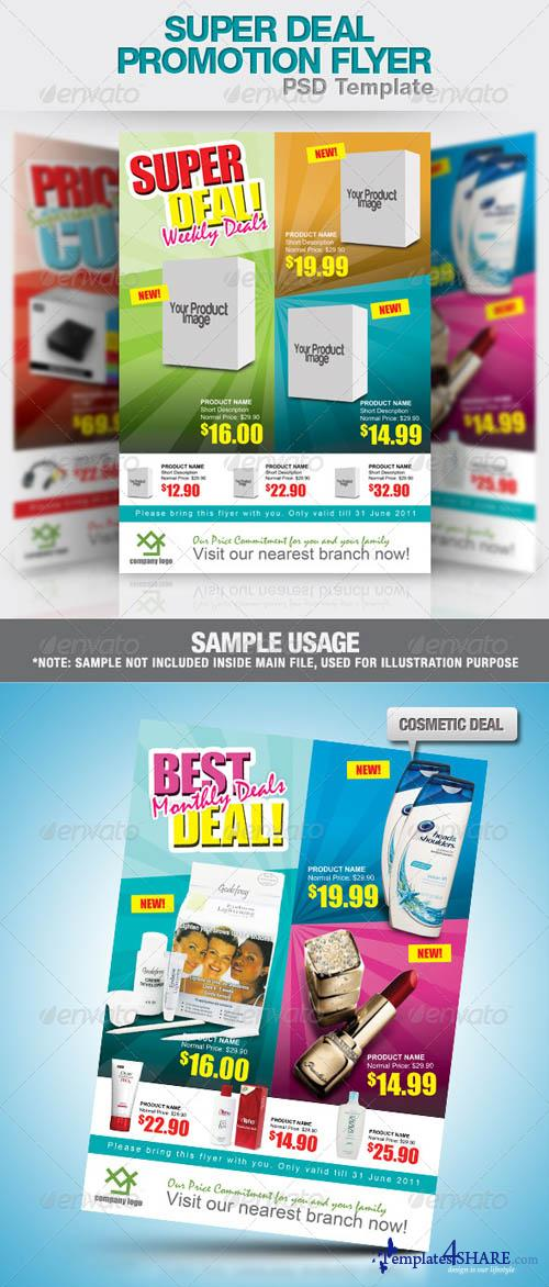 GraphicRiver Super Deal Promotion Flyer PSD Template