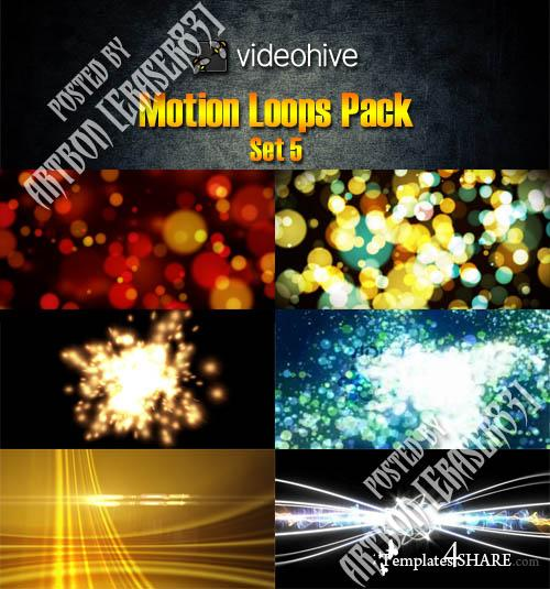Videohive Motion Loops Pack - Set 5