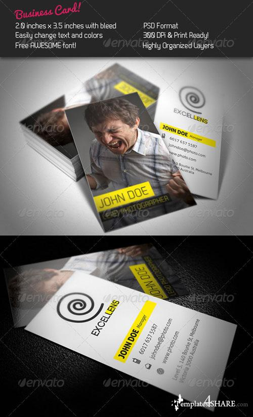 Excellens Business Card 248591 - Graphicriver