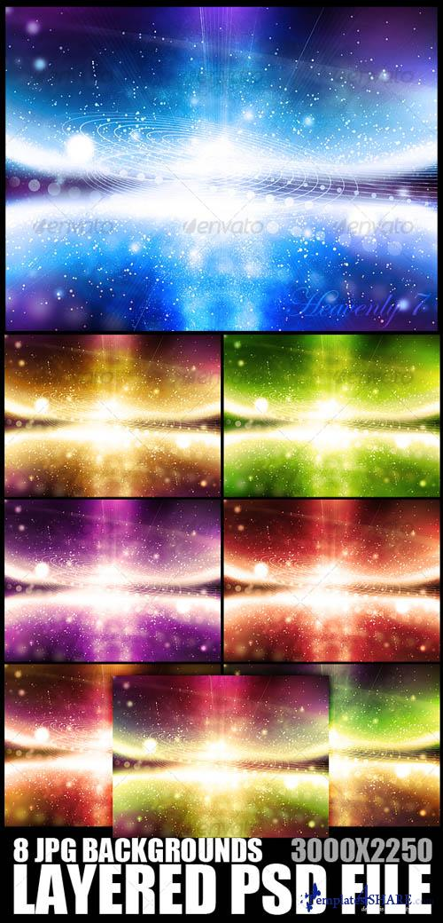 GraphicRiver Heavenly Background 7