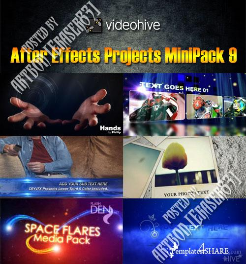 After Effects Projects MiniPack 9 (Videohive)
