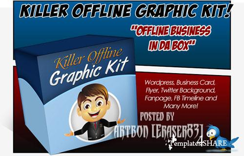 Killer Offline Graphic - Great Collection for Designers