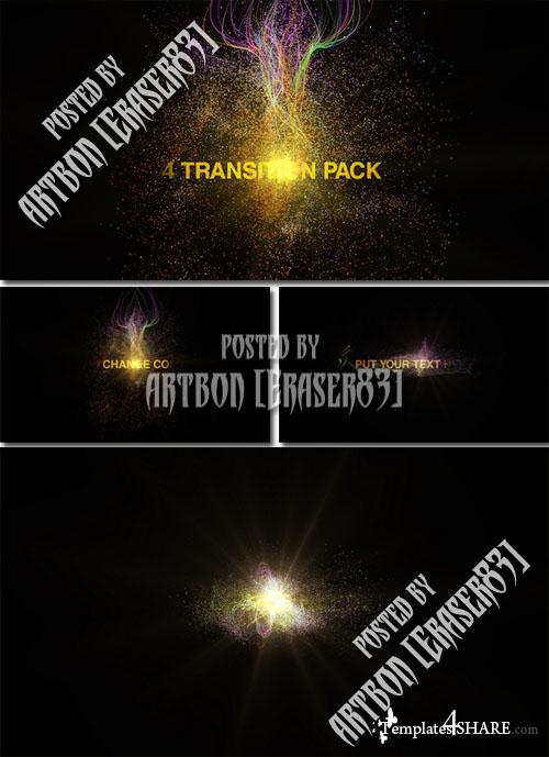 Particules Transitions Pack - Project for After Effects (Videohive)