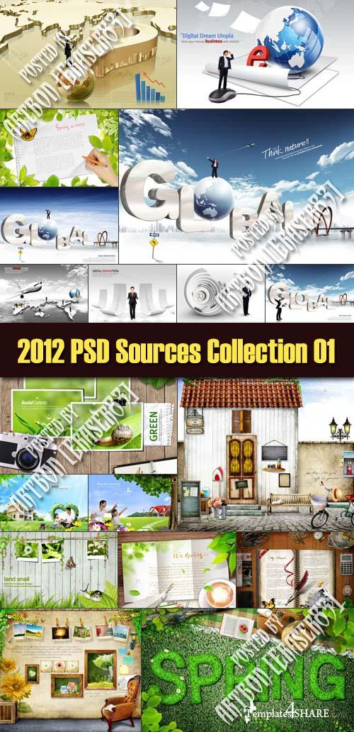 2012 PSD Sources Collection 01