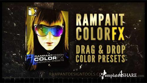Rampant ColorFX - 101 Animation Cinematic Color Presets for Adobe After Effects
