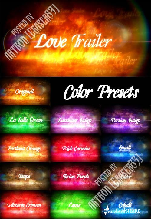 Love Trailer - Project for After Effects (Videohive)