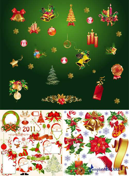 Christmas Vector Elements 5