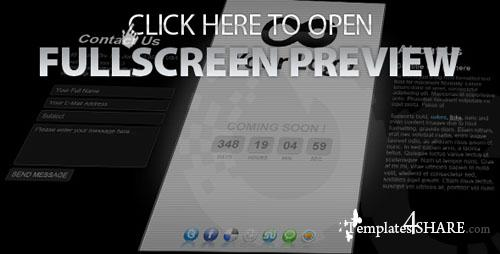 ActiveDen - Coming Soon Mini Template 04 AS3