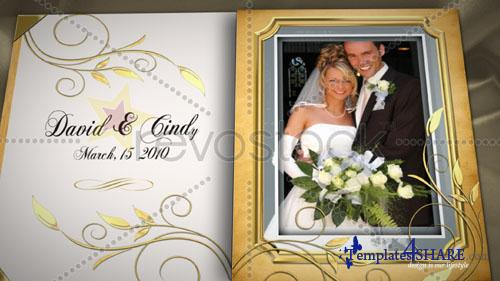 Wedding Book - Project for After Effects (Revostock)