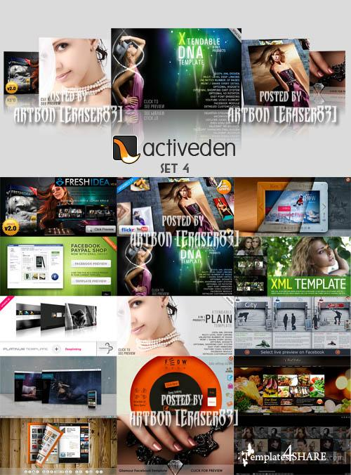 ActiveDen Flash Templates Pack 4
